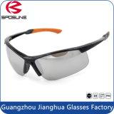 De lunettes de soleil 2017 de forme d'enveloppe polarisées par lunetterie de sport de lentille de polycarbonate demi