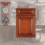 Porte en bois de Module de cuisine de meubles antiques (GSP5-008)