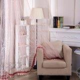 Tela escarpada de la cortina de la gasa sólida de lino disponible multicolora