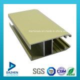 Profil en aluminium personnalisé d'extrusion enduit par poudre mieux vendue pour la porte de guichet