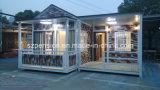 Camera mobile moderna/villa prefabbricate di durata della vita lunga/prefabbricate per le feste Llife