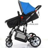 Novo carrinho de bebê de paisagem de alto ponto de vista