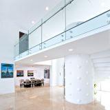 Sistema de pasamano de cristal del paso del montaje interior de la pared