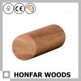 Balustrade ronde de haute qualité d'escalier de chêne rouge pour la décoration