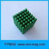 Ímãs de esfera de neodímio de 5mm de alta qualidade para brinquedo magnético