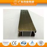 Wy-72 Glijdende Raamkozijn van het Aluminium van de Oppervlaktebehandeling van de reeks het Grote