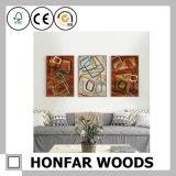 Cadre de tableau en bois amical de peinture d'Eco d'art de mur