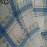 Tissu 100% teint par filé tissé de popeline de coton pour des chemises/robe Rlsc60-4sb