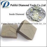 Segmento rosso del diamante del disco del granito 2000mm dell'India che taglia la sega di 2m