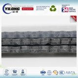 Material de isolamento de folha de borracha de alumínio térmico flexível e reflexivo