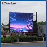 풀 컬러 큰 LED 기치 옥외 광고 의 방수, 높은 광도