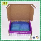 Напечатанная таможней коробка гофрированная цветом упаковывая, коробка коробки