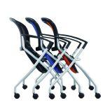 低いバックオフィスのゲストの訪問者の会合の折る網の椅子(Fs3159)