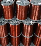 Fil en aluminium plaqué de cuivre émaux de la classe 220 (ECCA)