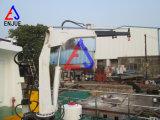 Электрический гидровлический телескопичный палубный судовой кран корабля грузоподъемной машины заграждения