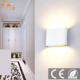 Luz de pared de aluminio de la lámpara de pared de interior LED al aire libre