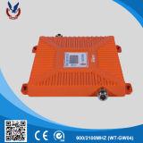 30dBm 2000sqm G/M mobiler Signal-Verstärker des HF-Verstärker-900/2100MHz