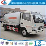 좋은 디자인 5cbm 고압 하수 오물 흡입 트럭