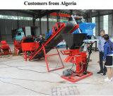 [وت1-25] يدويّة [إينترلككينغ] قالب آلة عمليّة بيع في إفريقيا