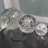 Bola de cristal grabada láser 3D y bola de cristal de la decoración casera