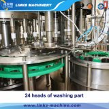 Máquina tampando de enchimento de lavagem da água automática