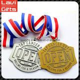 Медаль металла хорошей конструкции промотирования изготовленный на заказ с тесемкой