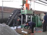 Briquetters 기계를 재생하는 자동적인 알루미늄 철 금속 작은 조각 유압 연탄-- (SBJ-500)