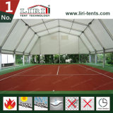 Campo de tenis poligonal para la venta, tienda poligonal de aluminio del deporte para el campo de tenis