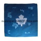 Bufanda cuadrada de las últimas de la manera de la impresión hojas de arce de encargo de la promoción