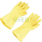 Gele Elektro RubberHandschoen/de Rubber Elektro Bestand Handschoen van de Handschoen