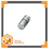 Botão do cilindro Bh-18, punho de porta de vidro pequeno acessório do banheiro