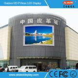 Tela ao ar livre do diodo emissor de luz da cor cheia HD P10 para o anúncio da alameda de compra
