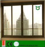 Kundenspezifisches schiebendes Glasaluminiumfenster mit Sicherheitsglas
