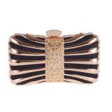 diamond Crystal Glittering 17cm Handmade 클러치 핸드백 디자이너 여자 숙녀 이브닝 백