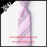 Laço tecido do casamento do nó 100% seda Handmade perfeita