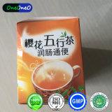 製品を細くするための反便秘の茶減量