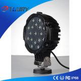 Luces autos del trabajo de conducción de la lámpara 51W del aluminio LED para el alimentador
