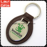 Het in het groot Leer Van uitstekende kwaliteit Keychain van de Douane Pu