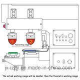 Verwendete Tampo manuelle Auflage-Drucken-Maschine