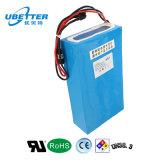 Bloco da bateria de lítio da bateria do Manufactory LiFePO4 para a bicicleta elétrica (24V 60Ah)