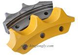 A transmissão parte o segmento da roda dentada para peças sobresselentes da máquina escavadora