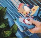 Caixa disponível do telefone do OEM do silicone 3D animal bonito Stretchy novo