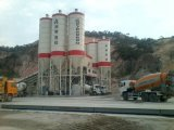 Конкретная дозируя тележка завода веся мост