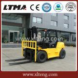 Anhebender Maschinen-chinesischer Gabelstapler 5 Tonne 7 Tonnen-Dieselgabelstapler