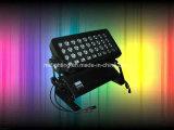 72*4W/36*10W RGBW 4in1 LED 벽 세탁기 LED 투광램프 IP 65