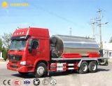 8000L asfalto Transporte Camión Cisterna / betún líquido calentado Camión Cisterna