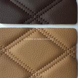Stiched Schwamm Microfiber Leder für Auto-Sitzdeckel Hx-M1702