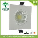 luz de techo cuadrada de la MAZORCA de 9W LED Downlight