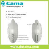 Tama drahtloser im Freien beweglicher Bluetooth Mikrolautsprecher-eingebaute Baß imprägniern
