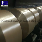 Dopant du filé FDY 70d/24f FDY de filament de polyester teint